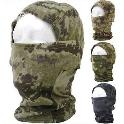Tactical Full Face Mask Multicam Camo Cycling Motorcycle Outdoor Facemask Unisex