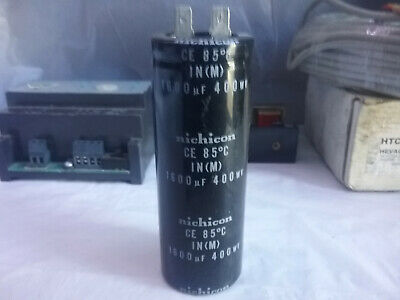 Nichicon Capacitor 85C IN(M) 1600 uF 400WV for Air Conditioning Use