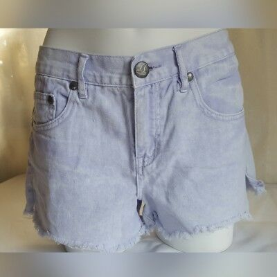 62cad3d1bc NWT FREE PEOPLE Rugged Ripped Sharkbite denim shorts - $49.99 | PicClick
