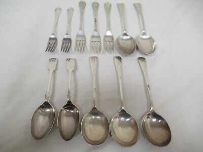 Job Lot of Solid Silver Hallmarked Forks and Spoons
