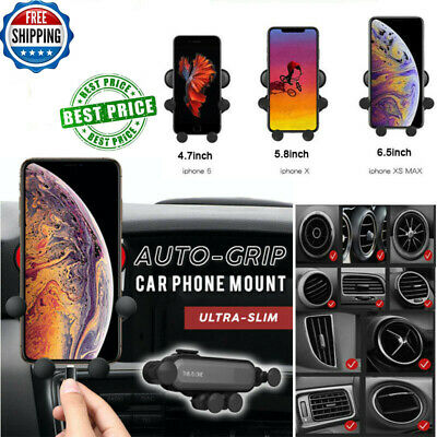 Universal Auto-Grip Car Phone Mount Holder For Galaxy S10 Plus iPhone 8/8+ UK RR