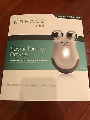 Nuface Mini Facial Toning Device Microcurrent Technology Brand New Sealed in Box