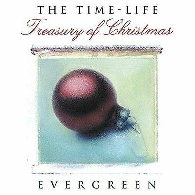 CD Treasury of Christmas Evergreen by Celine Dion Mariah Carey WHAM Time Life