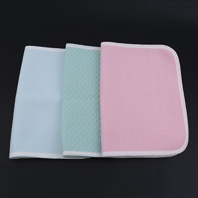 Baby Newborn Urine Pad Waterproof Bed Sheet Pad Colorful Blanket Nappy Cover D