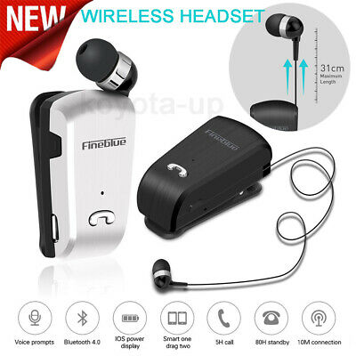 Fineblue L18 Wireless Bluetooth Headset Earphone For iPhone Samsung Universal QE