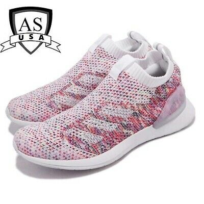 Adidas RapidaRun Laceless Knit Girls Running Shoes D97013 Size 5 YOUTH New