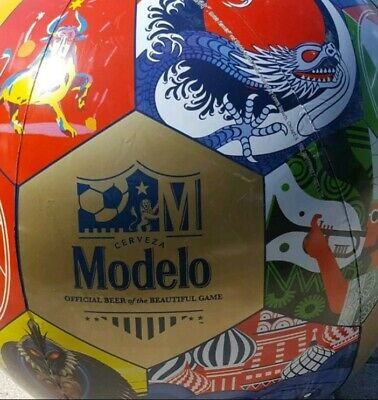 Modelo Beer XL Soccer Ball Inflatable COLORS Cerveza apprx 2' BeautifulGame NEW