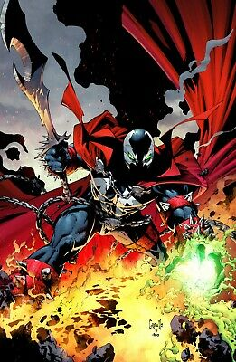 SPAWN 300 COVER D GREG CAPULLO VIRGIN VARIANT NM TODD McFARLANE