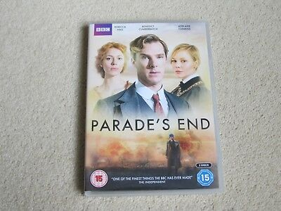 Parade's End.  2-disk DVD boxed set.   2012. Benedict Cumberbatch, Rebecca Hall