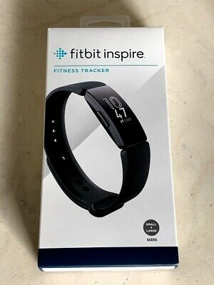 Fitbit Inspire Fitness Tracker - Small and Large Wristbands - Black