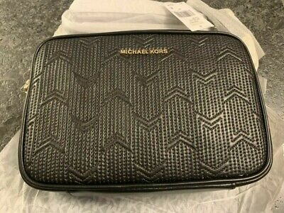 23022766d3b MICHAEL KORS Ginny Medium Deco Quilted Leather Crossbody Bag; 32H8GF5M2T;  NEW!