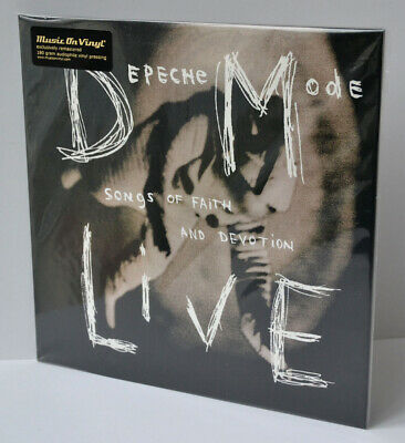 DEPECHE MODE Songs Of Faith And Devotion Live LP 180g VINYL gatefold 2014 EU