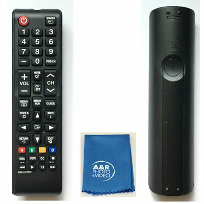 Replacement Remote Control BN59-01199F For Samsung LCD LED HDTV Smart TV + Cloth