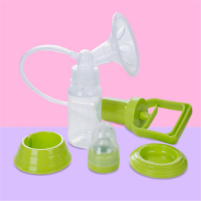 Breast Milk Pump Feeding Bottle Nipple Collector Mum Manual Breast Pumps Tool LD