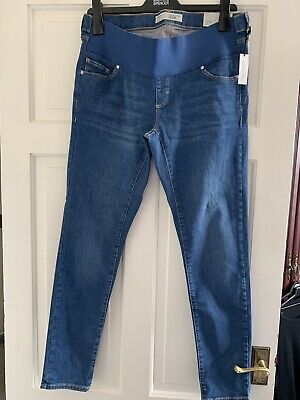 ♡ Topshop Maternity Leigh Jeans | Under The Bump | Size 12 L32 | With Tags ♡