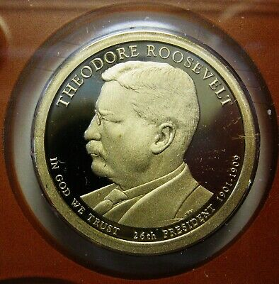2013-S Theodore Roosevelt DCAM Proof Presidential Dollar Bargain Priced FREE S&H