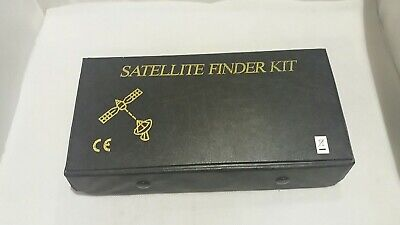 Boxed Satellite Signal  Finder Kit With Meter Compass Etc