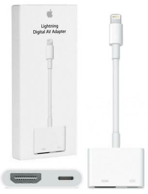 NEW Apple MD826AM/A Lightning Digital AV Adapter HDMI iPhone iPad Genuine OEM