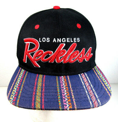 official photos e847a 4db97 Young   Reckless Los Angeles Adjustable Snapback Baseball Cap Hat Wool Blend