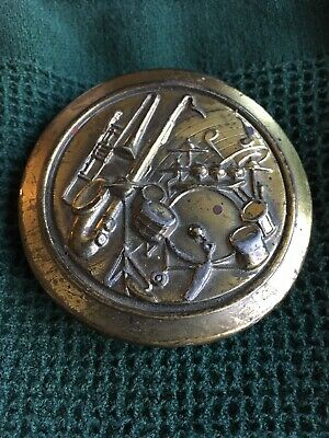Great American Buckle Co Musical Instruments Design Serial #917, Vintage!