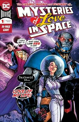 Mysteries of Love in Space #1 DC comic 80-page giant (Superman Green Lantern)