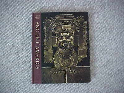 """Book-""""Ancient America""""-Great Ages Of Man-Vintage 1967-Time Life Books-Used"""