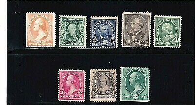 US STAMPS 19th and early 20th century high catalog value group  (812)