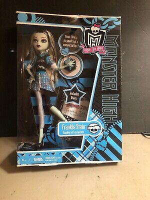 Monster High Frankie Stein First Edition Doll New