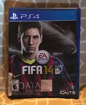 FIFA 14 For PlayStation 4 PS4 Soccer Brand New 6E