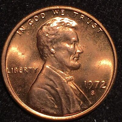 1972-S/S Lincoln Cent Ddo Double Die Ms ** Extremely Rare Brilliant Red Gem Ddo!