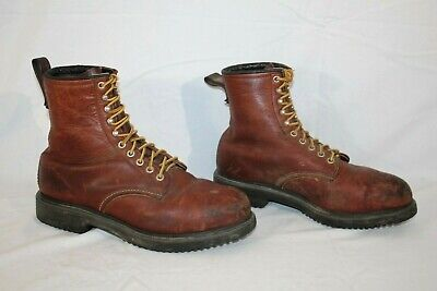 afd8cc2380d RED WING SUPERSOLE Leather Safety Toe Work Boots, Mens 10 , Brown ,USA