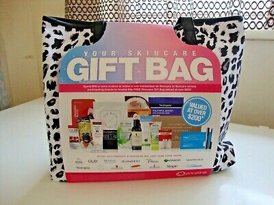"""Priceline """"YOUR SKIN CARE"""" Gift Bag ~ Gift with purchase ~ Brand New"""