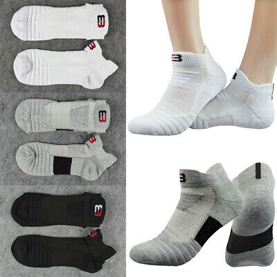 aa466acf711 Mens Basketball Socks Dri-Fit Sport Athletic Crew Ankle Low Sock Shallow  Design