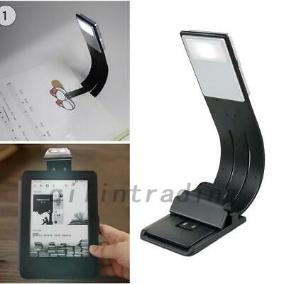 LED Reading Book Light Flexible Clip USB Rechargeable For Kindle/eBook Reader AU