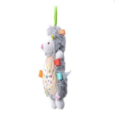 Baby Infant Rattles Plush Animal Stroller Hanging Bell Play Toy Doll Soft JA