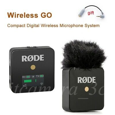 Rode Wireless GO Compact Digital Wireless Microphone System 2.4GHz Vlog Vedio