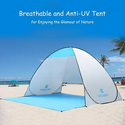 UV Protection Pop Up Beach Canopy Sun Shade Shelter Outdoor Camping Fishing Tent