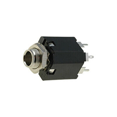 ACJS-MV-5 Socket Jack 635mm female straight for panel mounting THT