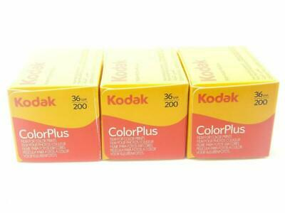 Kodak Colorplus 200asa 36exp 3 Pack
