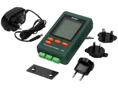 SD750 Logger pressure LCD 132x80x32mm Interface RS232 Channels3 EXTECH