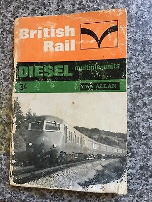 Ian Allan ABC British Rail Diesel Multiple Units 1966 ITS USED SEE PHOTOS