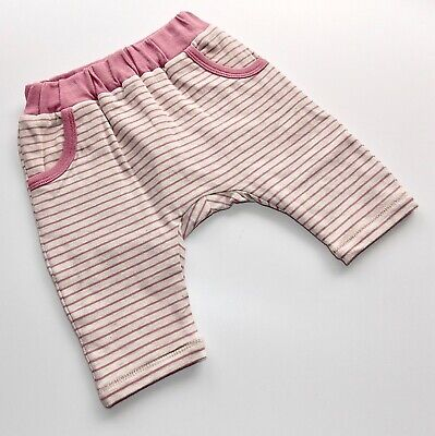 bellybutton Girls Sweathose / Jogginghose gr. 56 sand melange / rose gestreift
