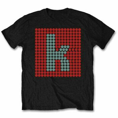 THE KILLERS UNISEX TEE: K GLOW T-Shirt 100% Official Merchandise