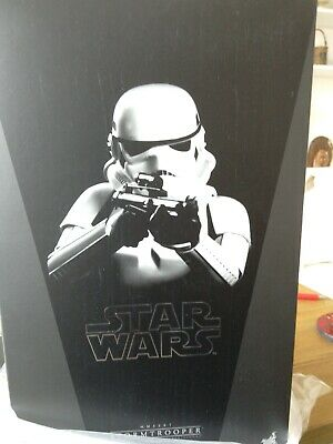 """Hot Toys Star Wars 1/6 scale 12"""" Stormtrooper figure. MMS267 A New Hope episode"""