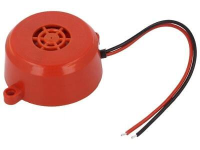 BUZ-A Sound transducer piezo alarm 12÷24VDC Sound level100dB  MPM