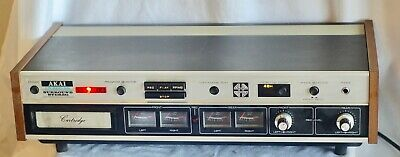 ** Vintage AKAI CR-80D-SS Stereo/Quad 8-Track Player Recorder **