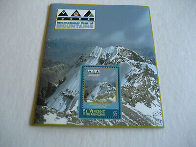 St Vincent & The Grenadines   2002  International Years Of Mountains (Mount Acco