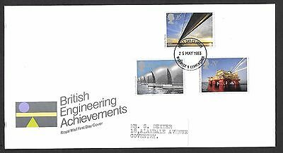 Gb 1983 British Engineering Achievements  First Day Cover.