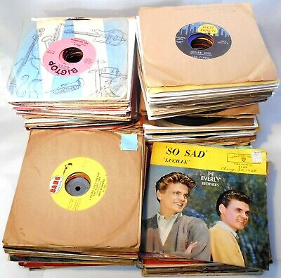 260+ 45 RPM Records Mostly 50s & 60s Fair to EX Cond.
