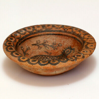 Museum Quality Indus Valley Terracotta Pot , Decorated , Circa 1900-1000 Bc